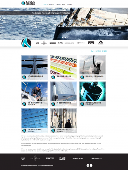 Advacned Rigging - Website Home