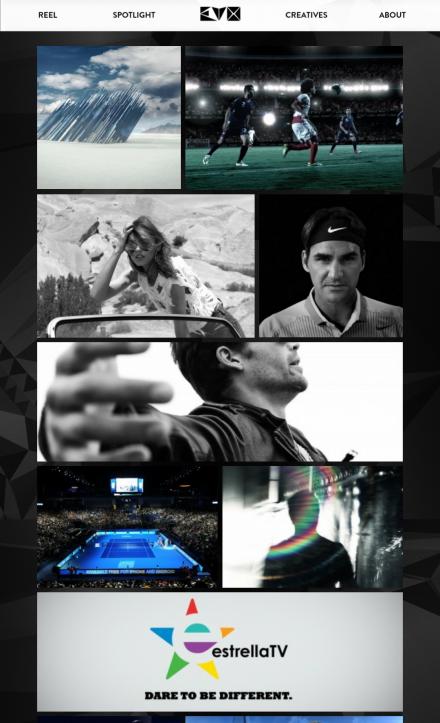 Evo Films - Mobile Website
